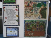 Paraty: FLIP childrens' art exhibits
