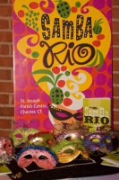 Samba Rio: Poster and Masks